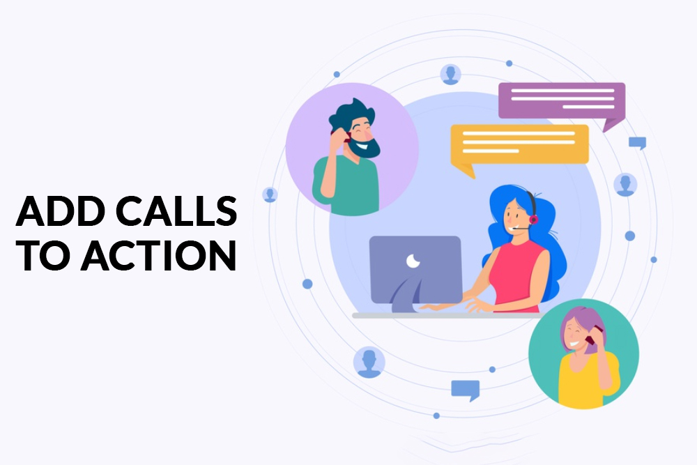 Add Calls to Action