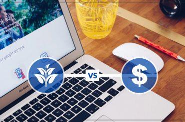 Organic vs paid Facebook advertisement