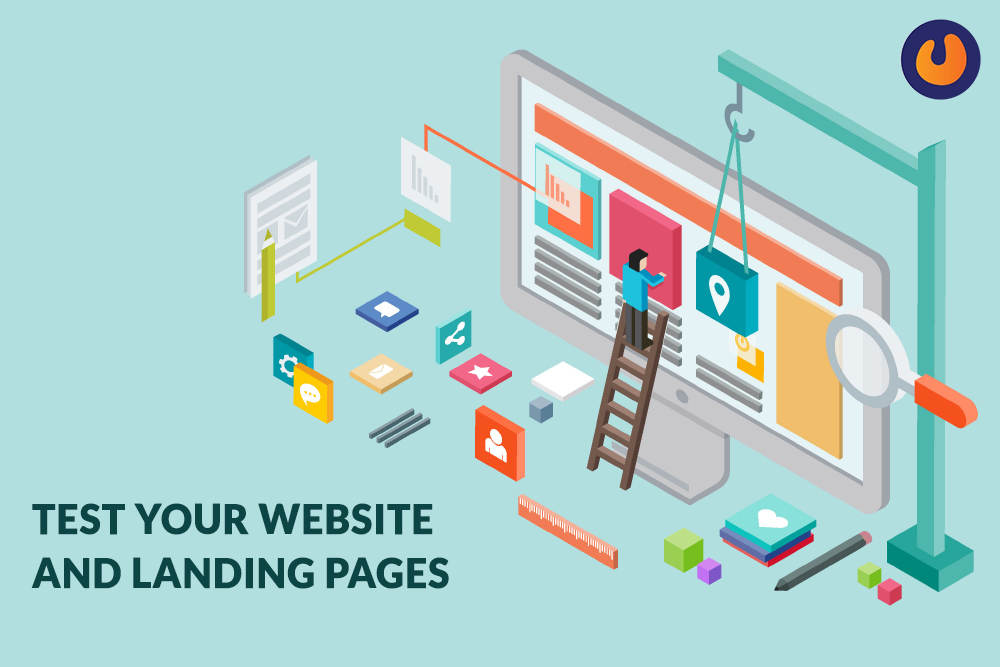 Test your website & landing pages