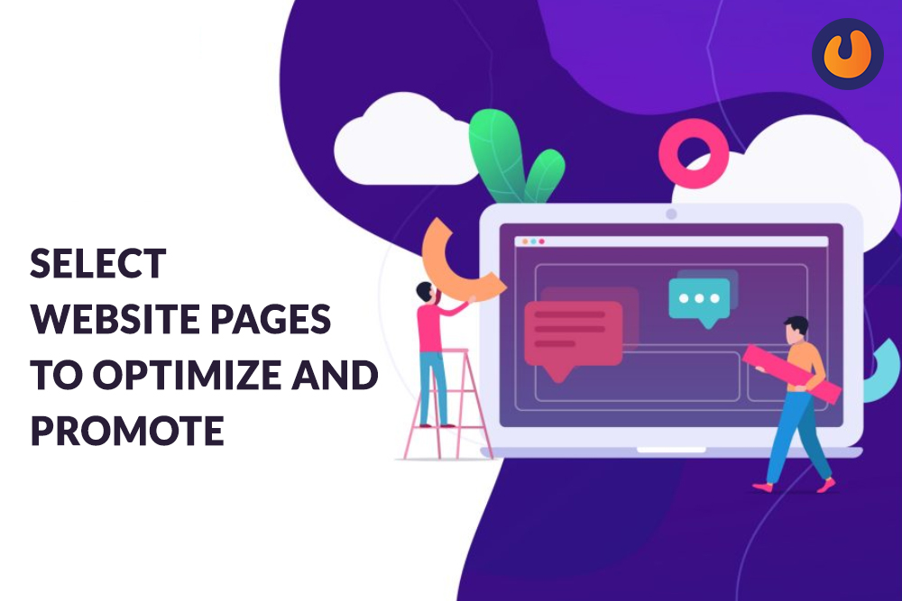 Select website Pages to Optimize and Promote