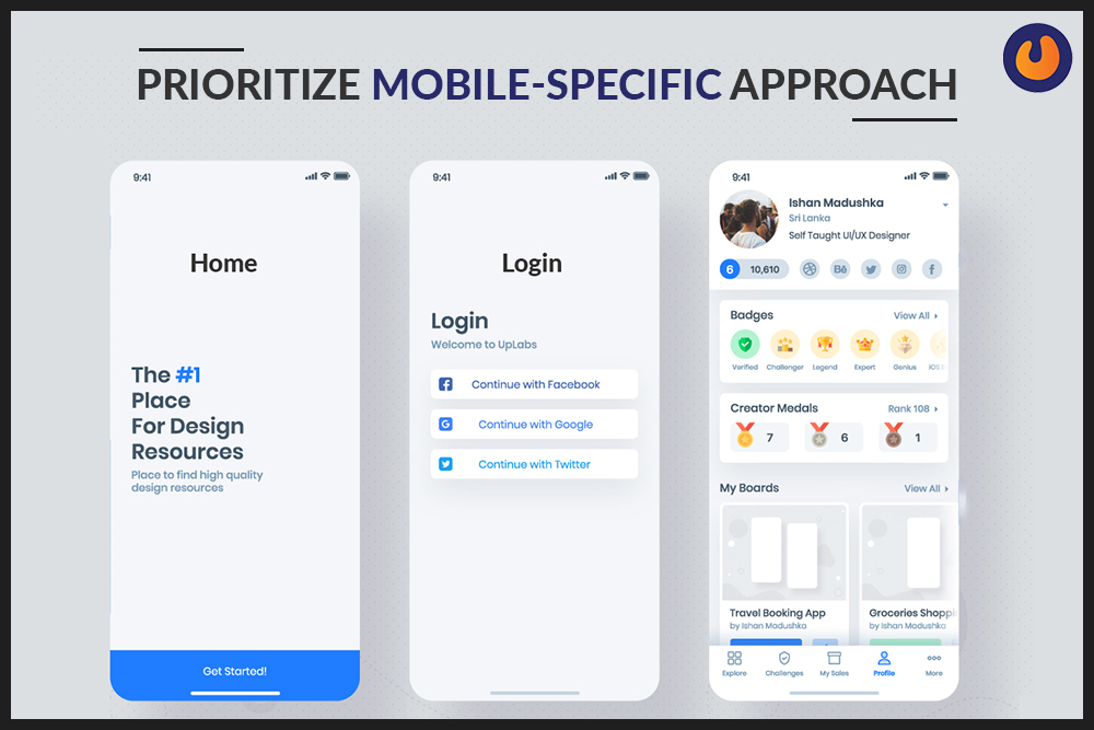 Prioritize Mobile-Specific Approach
