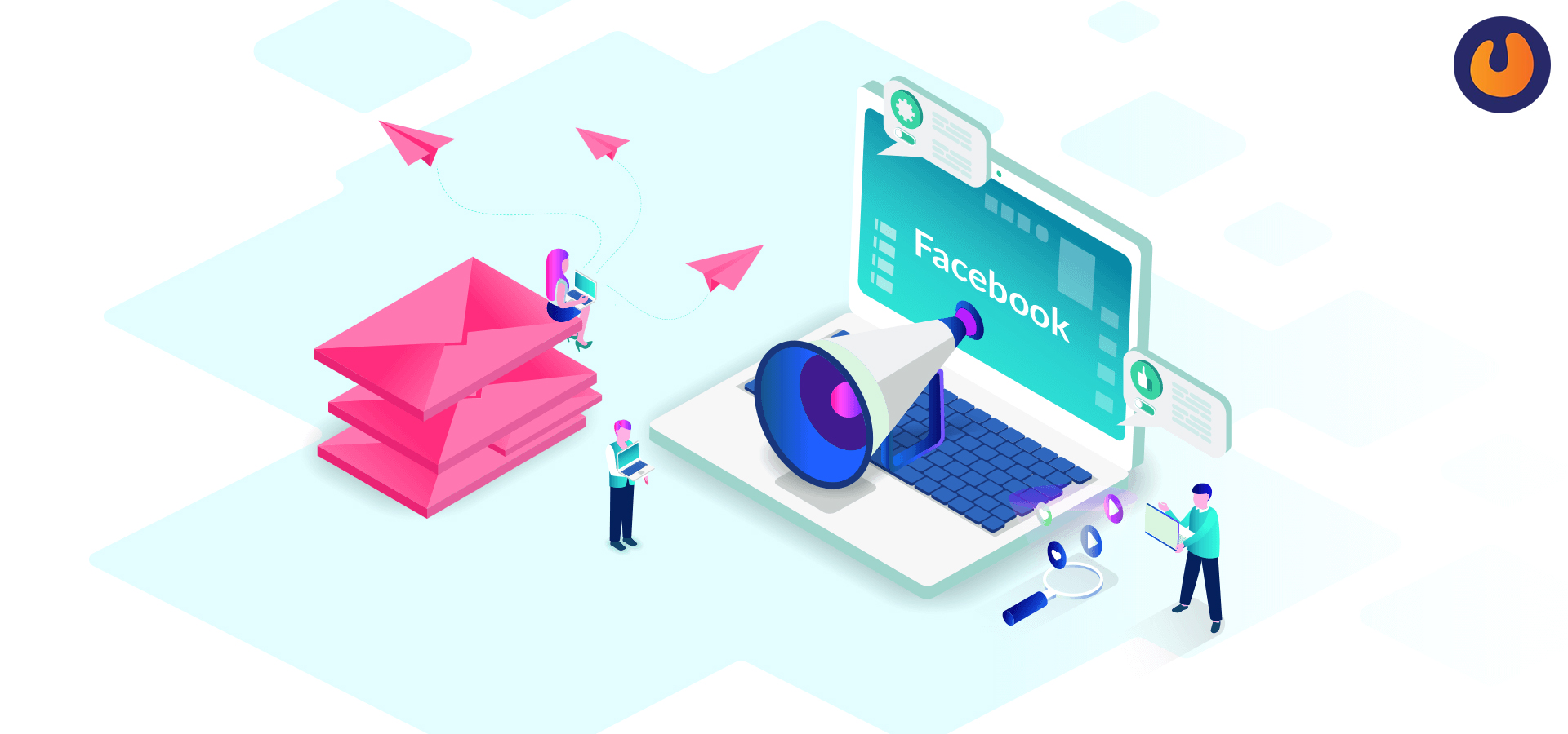 Facebook tests email marketing tools for business