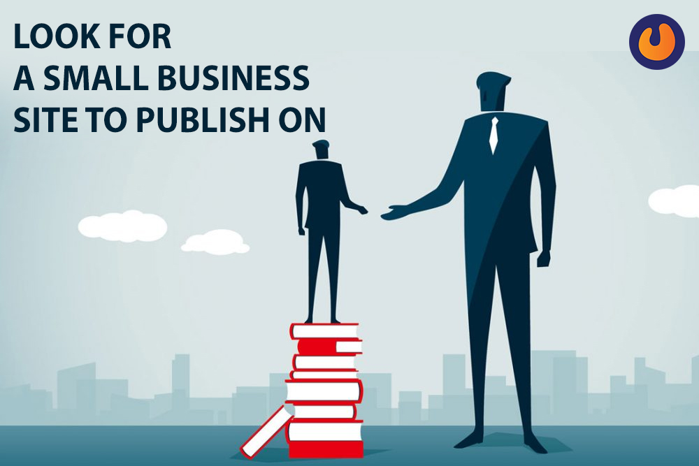 look for a small business site to publish on