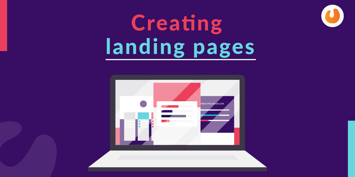Creating landing pages