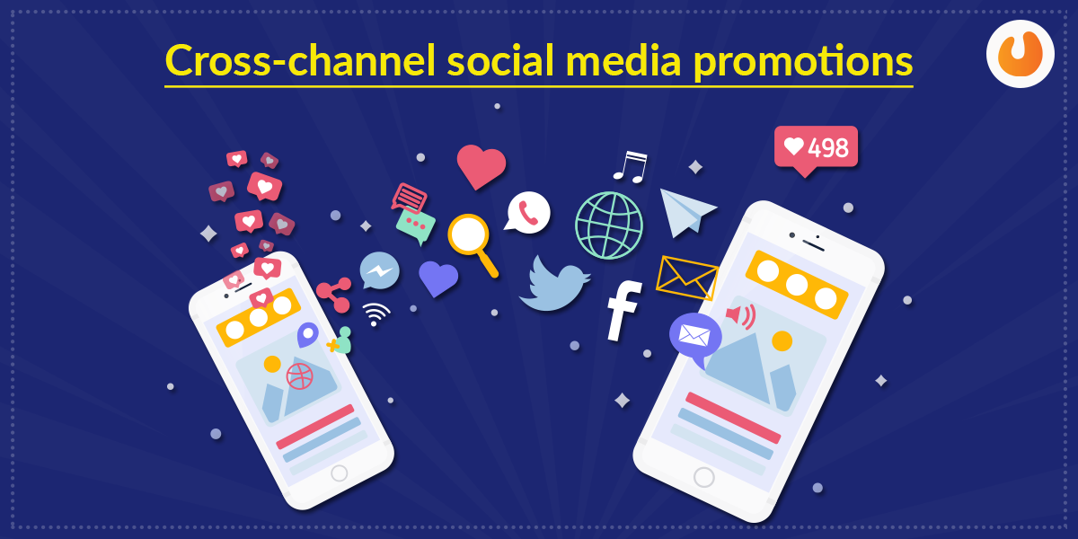 Cross-channel social media promotions