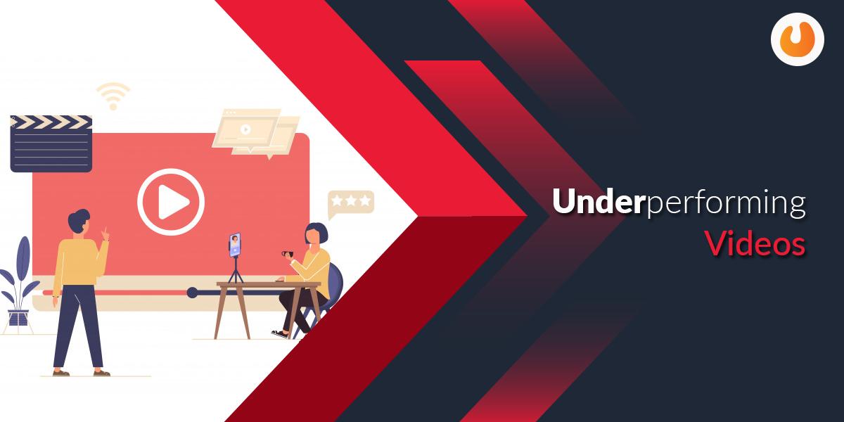 underperforming videos