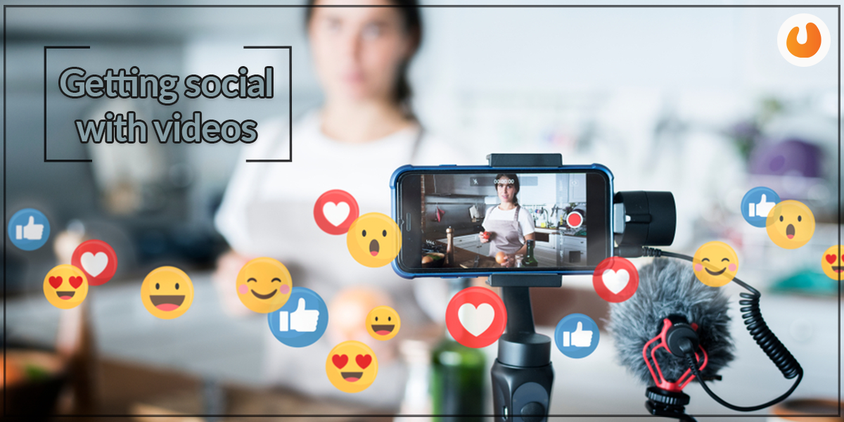 social with videos