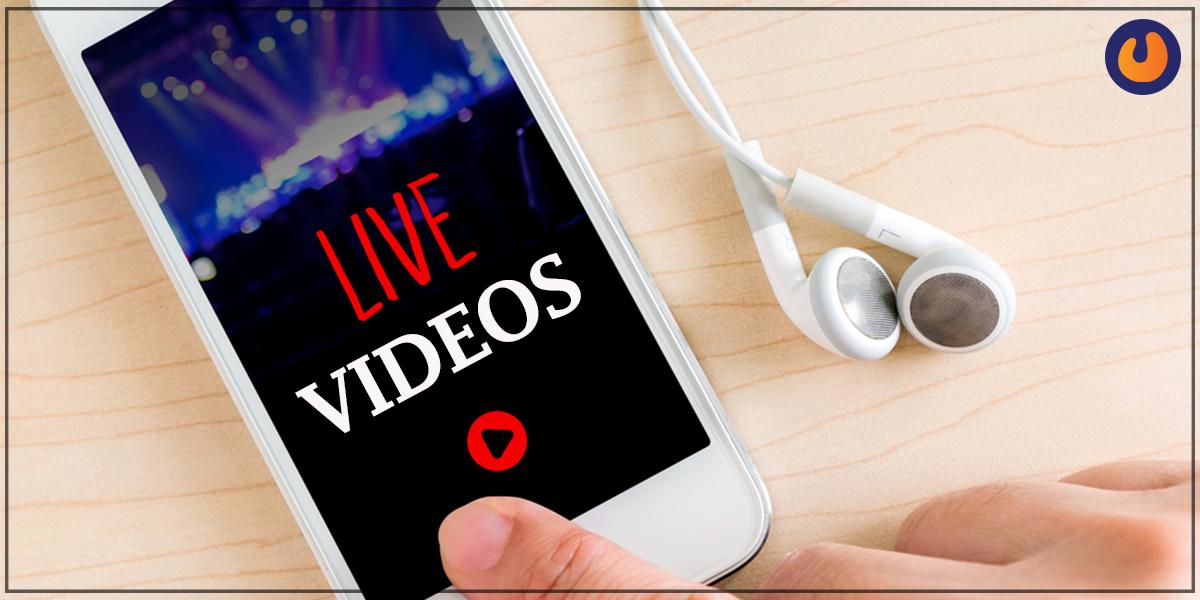 Live videos