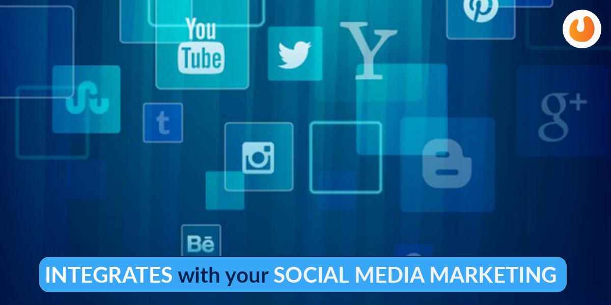 integrates with social media marketing