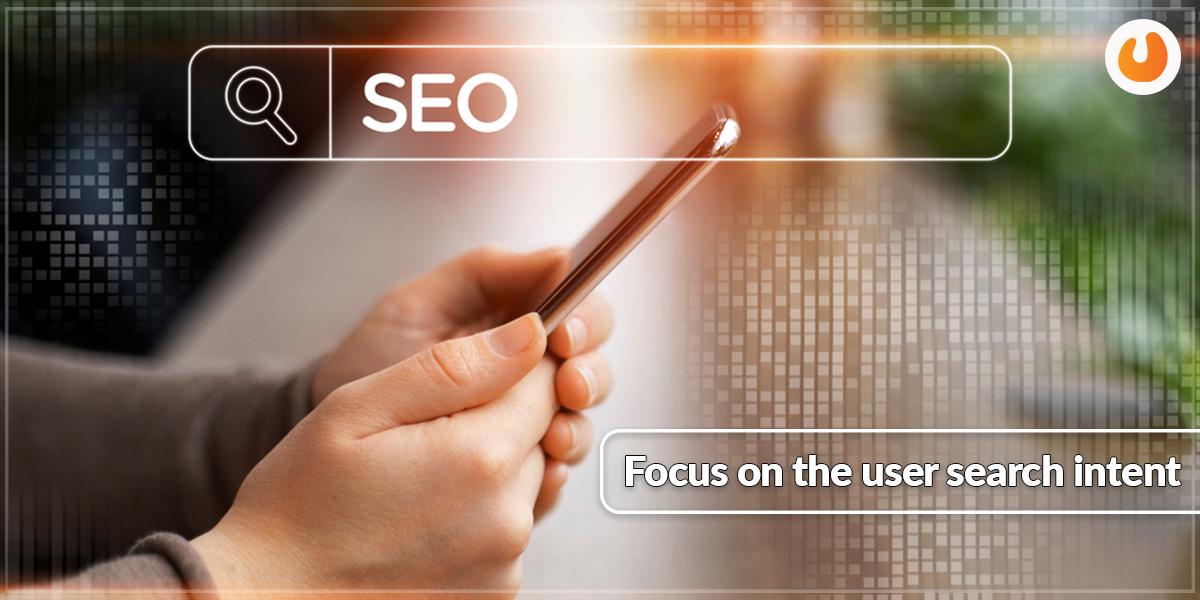 Focus on user intent