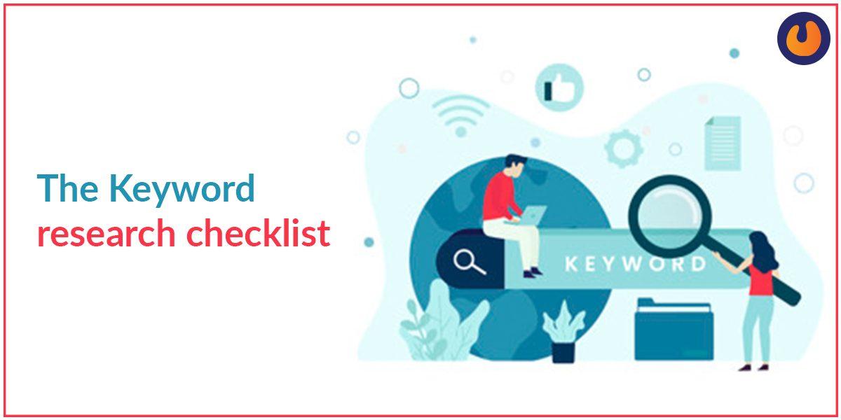 keyword research checklist