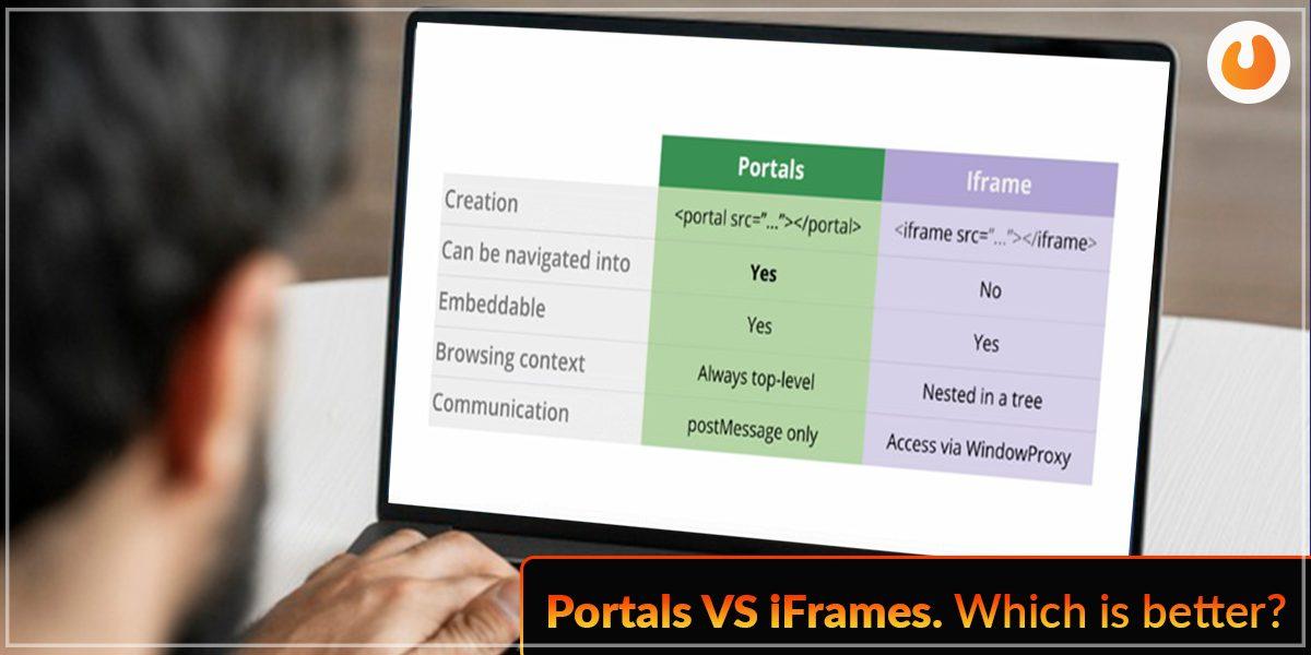 Portal vs iframe